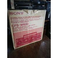 Sony CFS-W600 магнитола