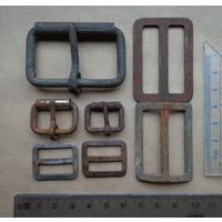 Старые пряжки(сталь)