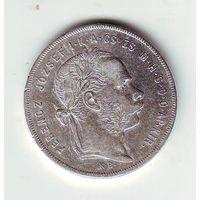 Австро-венгрия. 1 форинт 1878 г.