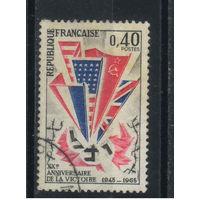 Франция 1965 20 годовщина Победы #1450