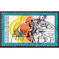 1981 г. ГДР. VIII детско-юношеская спартакиада ГДР спорт (АНД