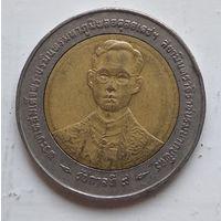Таиланд 10 бат, 1996 50 лет правления Короля Рамы IX 5-4-21