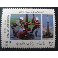 Иран 1992 бурение скважины, добыча нефти