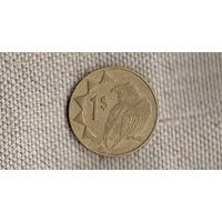 Намибия 1 доллар 2002 /фауна/(JN)