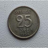 Швеция 25 эре, 1954 2-1-61