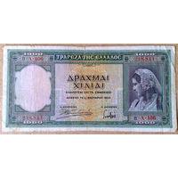 1000 драхм 1939г.