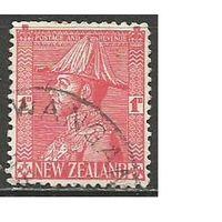 Новая Зеландия. Король Георг V в адмиральской форме 1926г. Mi#174.