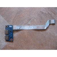 Плата с USB разъемами для HP 250 255 G3 серии Pavilion 15-g 15-r серии LS-A993P ZS051 455MKK32L01 PK343003200 NBX0001JX00