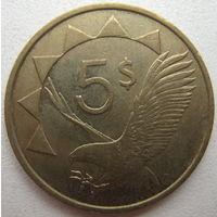 Намибия 5 долларов 1993 г. (d)
