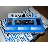 10 НОВЫХ аудиокассет MAXELL- LN-90  Japan