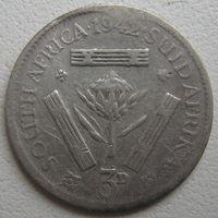 ЮАР 3 пенса 1942 г. (d)