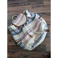 Тканевый рюкзак Pull&Bear
