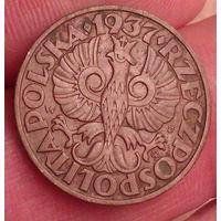 5 грош 1937 5 groszy   1937  Rzeczpospolita Polska..