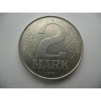 2 марки 1977 ГДР