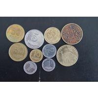 Лот украинских монет
