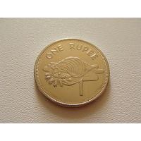 Сейшельские острова. 1 рупия 2010 год КМ#50