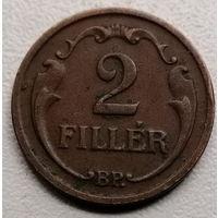 Венгрия 2 филлер 1935