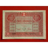2 кроны Австро-Венгрия 1917г.