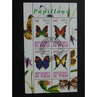 Чад 2010г. Бабочки.