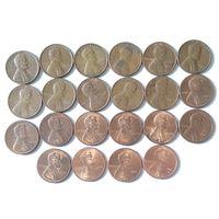 США, 1 цент. Список внутри.