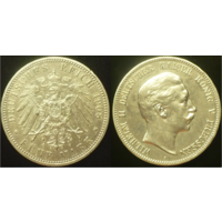 5 марок 1908 г Пруссия