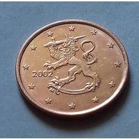 5 евроцентов, Финляндия 2002 г., AU