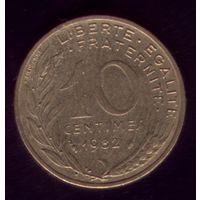 10 сантимов 1982 год Франция