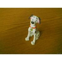 """Собака пес Понго из мультфильма """"101 далматинец"""" (101 Dalmatians: Pongo 12513, далматинский дог, далматин). Производство Bullyland, Disney. Made in Germany."""