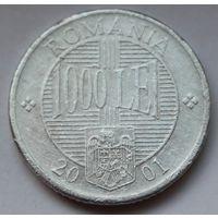 Румыния, 1000 леев 2001 г.