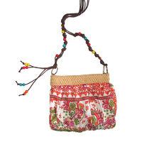 Летняя сумочка в индийском стиле из нежного шелка, на молнии, абсолютно новая, пр-во Польша