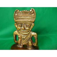 Старая оригинальная статуэтка (привезена в 63-65 г.г. из Мексики)
