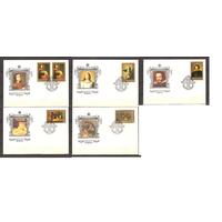 СССР 1985 г. КПД  5573-78 Живопись Эрмитажа Испанская