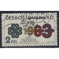 Чехословакия 1983 телекоммуникация (АНД