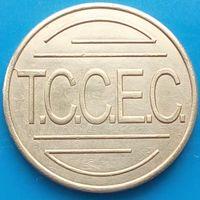 Моечный жетон-Т.С.С.Е.С-НИДЕРЛАНДЫ