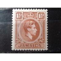 Ямайка 1938 колония Англии Король Георг 6*