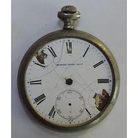 "Карманные часы ""Georges Favre -Jacot"" до 1917 г. Швейцария. Не исправные. Диаметр 5 см."