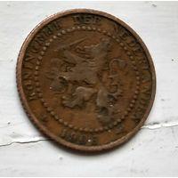 Нидерланды 1 цент, 1906 1-11-42