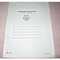 Тетрадь из Колумбийского университета (Нью-Йорк) в линейку