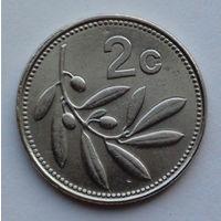 Мальта 2 цента. 2002