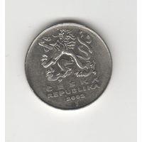 5 крон Чехия 2002 Лот 3172