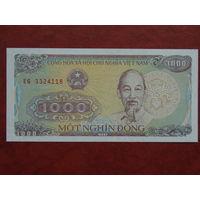 Вьетнам 1000 донгов 1988г. UNC