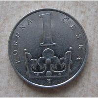 Чехия 1 крона 1994 год