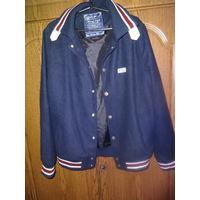 Куртка кашемировая в спорт/стиле