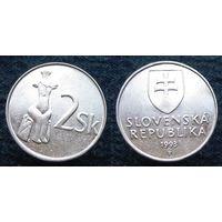 W: Словакия 2 кроны 1993 (887)