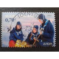 Финляндия 2007 Европа скауты