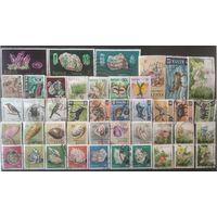 Кения\678\ 43шт фауна раковины минералы флора