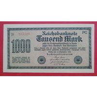 1.000 Марок -1922- ГЕРМАНИЯ -*-AU-практически идеальное состояние-
