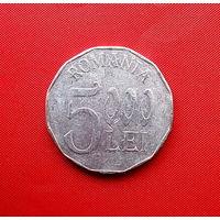 97-21 Румыния, 5000 лей 2002 г.