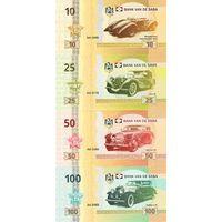 Остров Саба Набор 8 банкнот 2015 год UNC