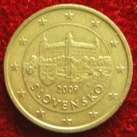 7403:  50 евро центов 2009 Словакия